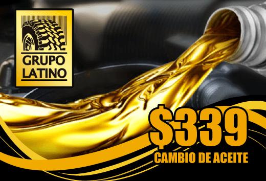 Cambio de aceite en $339