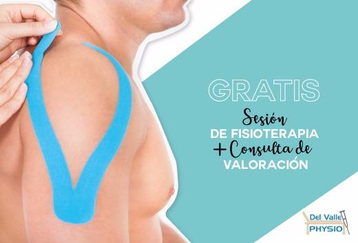 Sesión de fisioterapia + Consulta de valoración GRATIS