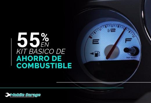 55% en Kit básico: Ahorro de Combustible
