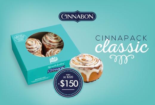 Cinnapack Classic de $220 a $150