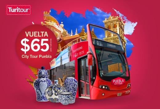 City Tour Puebla a $65