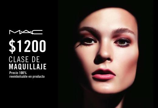 Clase de Maquillaje por $1,200
