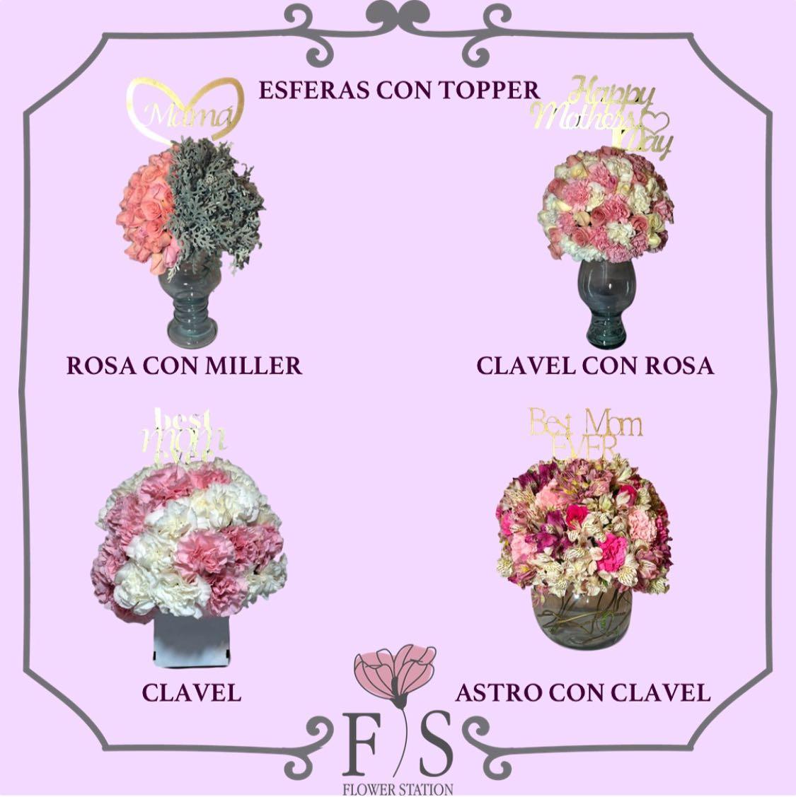Esfera de 100 rosas por $699