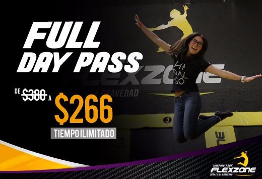 Full Day Pass: Tiempo ilimitado por sólo $266