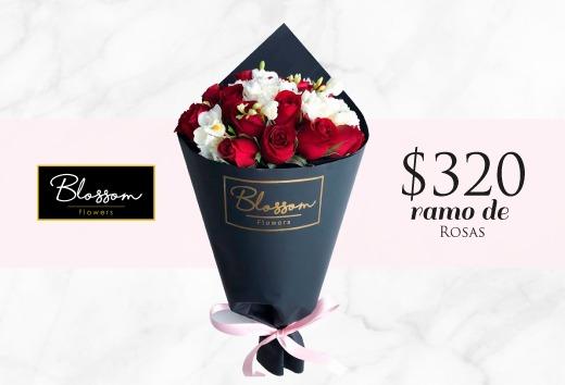 Ramo de rosas por $320