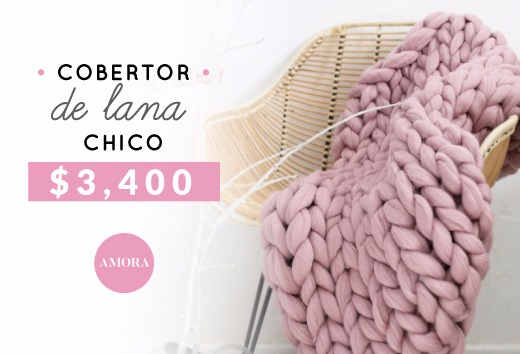 Cobertor de lana chico $3,400