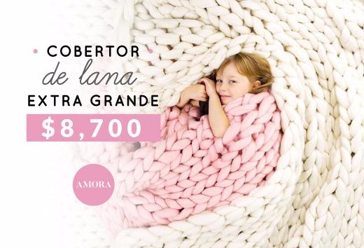 Cobertor de lana extra grande $8,700