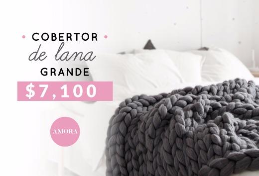 Cobertor de lana grande $7,100