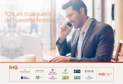 Hospédese en hoteles participantes de México con un 10%