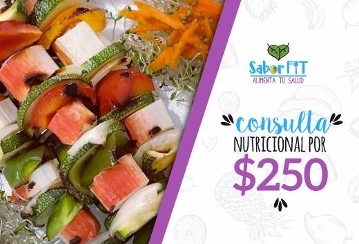Consulta nutricional por $250