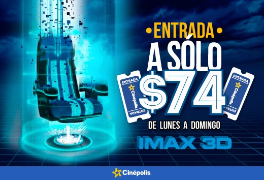 3D/IMAX a $74