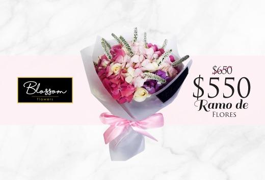 Ramo de flores por $550