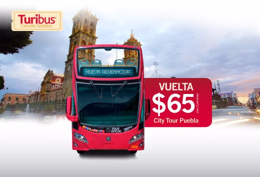 City Tour Puebla a $65