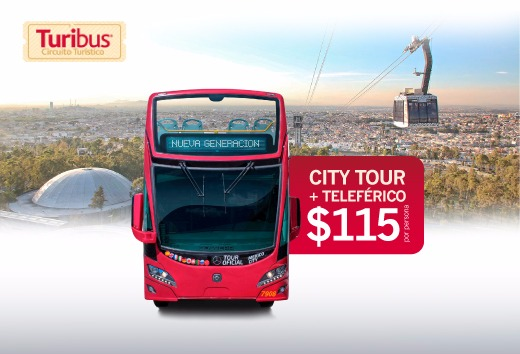 Citytour + Teleférico a sólo $115