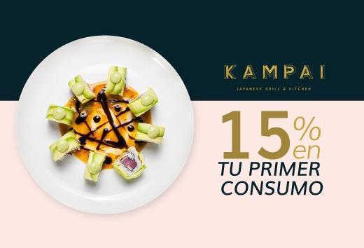 15% en tu primer consumo