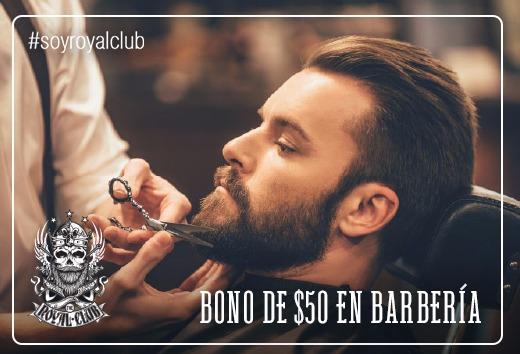 Bono de $50 en barbería