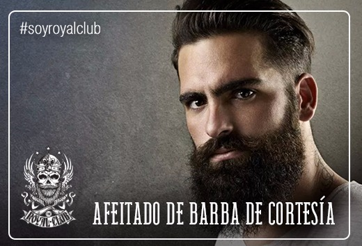 Afeitado de barba de cortesía