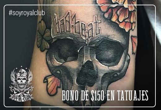 Bono de $150 en tatuajes