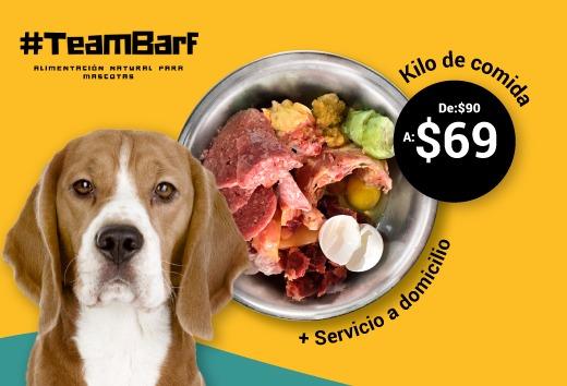Kilo de comida por $69 + servicio a domicilio
