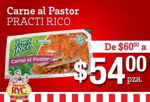 Carne al pastor por $54