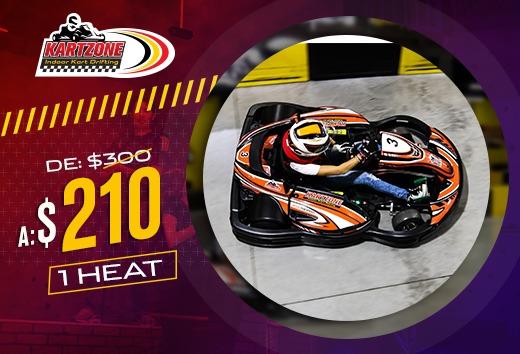 Kartzone: 1 Heat por $210