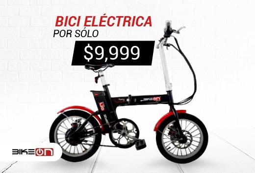 Bicicleta eléctrica por $9,999