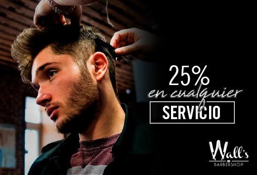 25% en cualquier servicio
