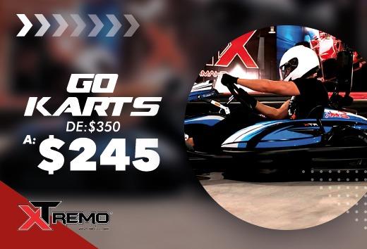Go Karts por $245