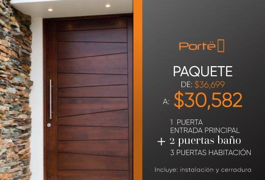Paquete puertas por $30,582
