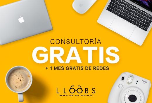 Consultoría GRATIS + 1 mes gratis de redes