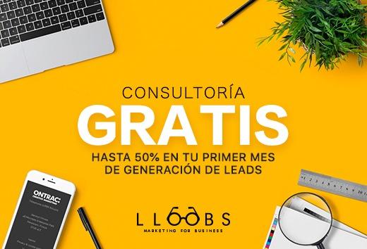 Consultoría GRATIS + hasta 50% en tu primer mes