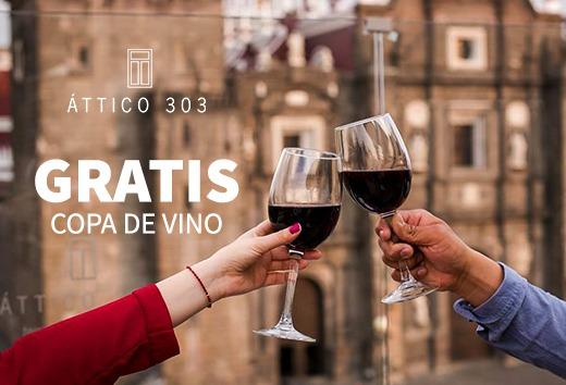 Copa de vino GRATIS