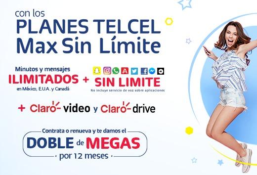 Plan Telcel Max Sin Límite