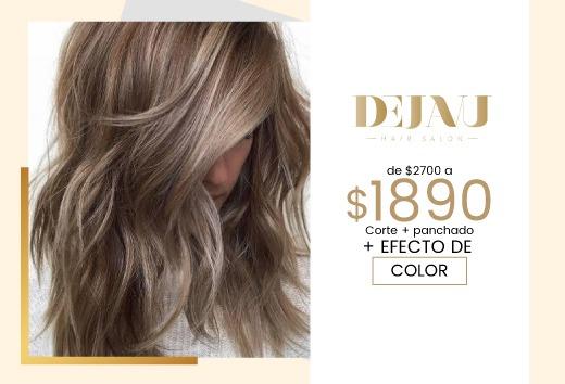 Efecto de color, corte y planchado de $2700 a solo $1890
