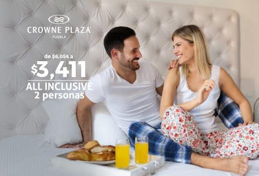 All Inclusive 2 personas $3,411