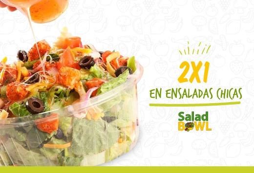 2x1 en ensaladas