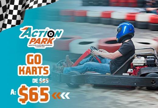 Go Karts por sólo $65