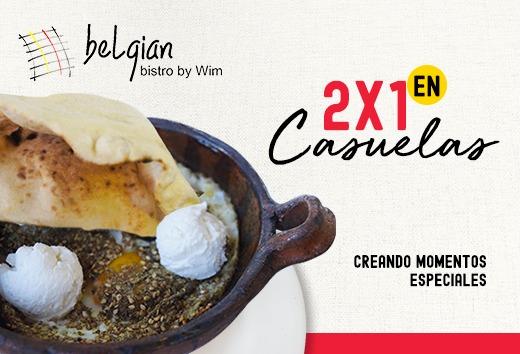 2x1 en Cazuelas
