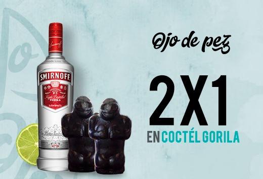 Coctél Gorila al 2x1