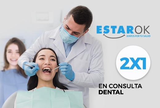 2x1 en Consulta Dental
