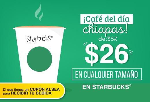 Café del día Chiapas por $26