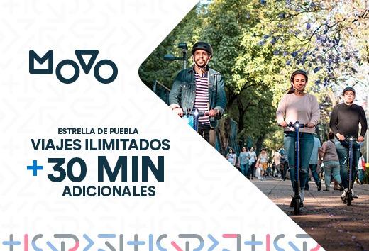Viajes ilimitados + 30 min adicionales