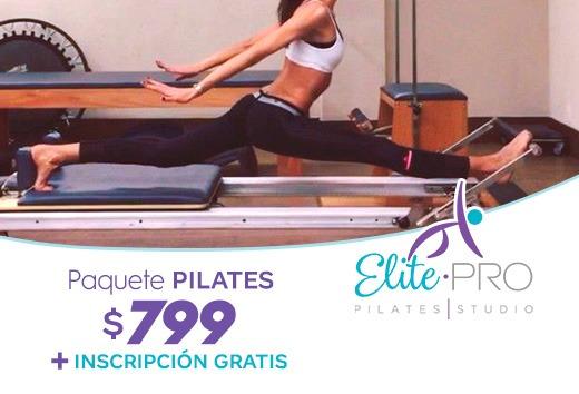 Paquete Pilates $799 + Inscripción Gratis