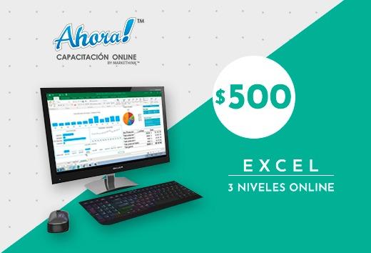 Excel 3 niveles $500