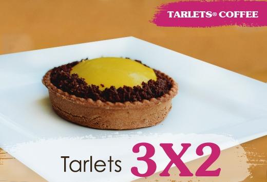 3 x 2 en Tarlets
