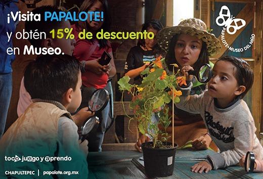 15% de descuento en Museo