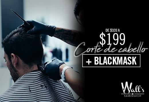 Corte de cabello + BlackMask $199