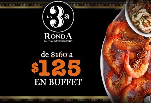 Buffet de $160 $125