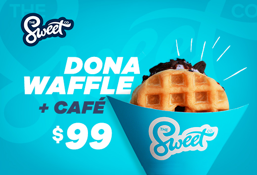 Dona Waffle + Café $99