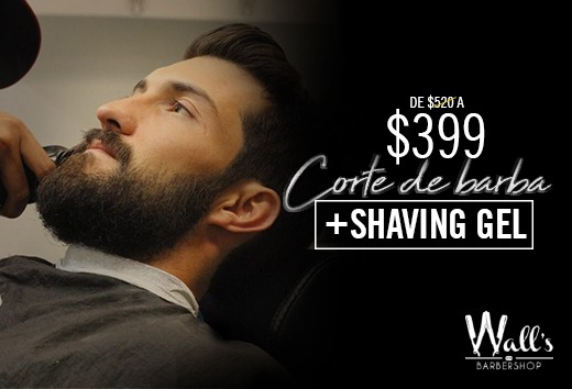 Corte de Barba + Shaving Gel $399